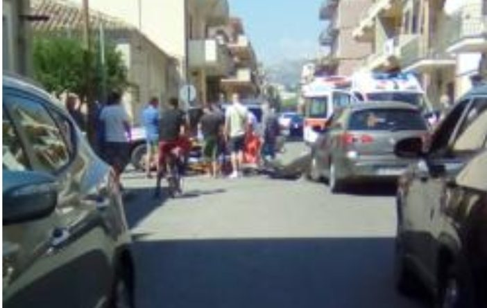 Siderno: incidente stradale provoca due feriti  Sab, 14/09/2019 – 13:00